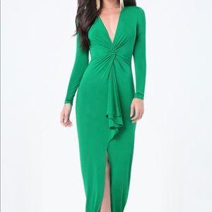 Fabulous emerald green gown